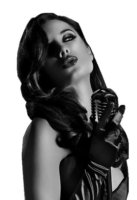 Mes tubes femme en noir et blanc !!