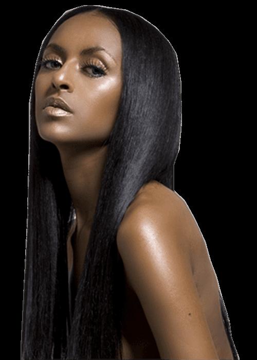 photo femme noir